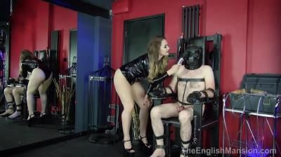 The English Mansion: Goddess Serena - Tormented In The Chair - Complete Film