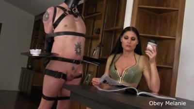 Clips4sale: Obey Melanie - Cock Served In Bondage
