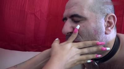 Foxy Foot Brats: Lady Zahira - Worship The Indian Princess – Hand Worship And Domination (EXTRA LONG NAILS!)