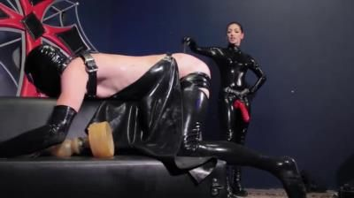Clips4sale: Anal Blitzkrieg - Brutal Strap-On