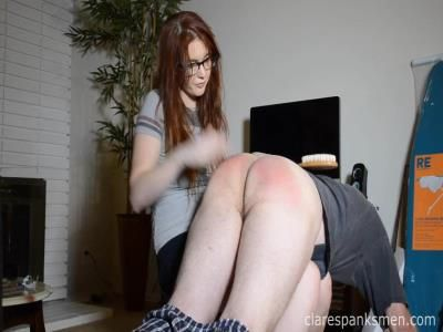Clare Spanks Men: Audrey Tate - A Penny For Your Spanks
