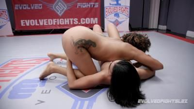 Clips4sale: Daisy Ducati, Diamond Banks - Beautiful Diamond Banks Gets Fucked Good After Losing Her Match Of Evolved Fights Lesbian Edition