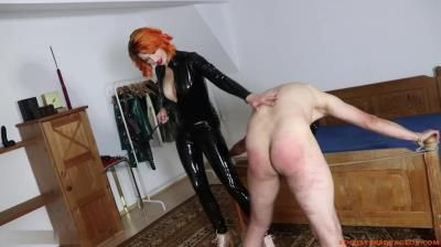 Clips4sale: Lady Dark Fairytale - Sexy Redhead Introduces The Slave To Caning