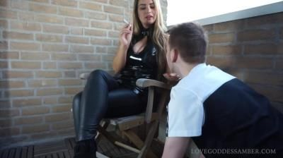 Clips4sale: Goddess Amber - My Human Ashtray