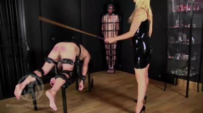 Clips4sale: Mistress Nikki Whiplash - No Mercy Caning For Two Naughty Slaves Part Ii Wl1500