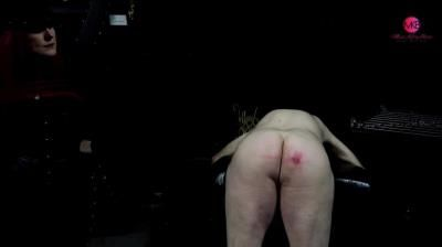 Clips4sale: Miss Kitty Bliss - Insubordinate Slave Receives 12 Cane Strokes