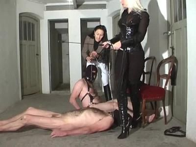 Clips4sale: Queen Kalashnik - Riding Slaves Degradation Continues