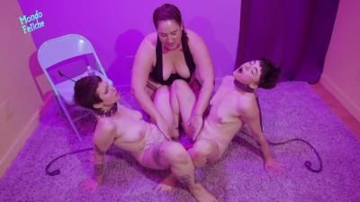 Clips4sale: Mimosa, Magenta Lexe, Vanessa Darling - Mimosa And Her Pet Toys Part 2