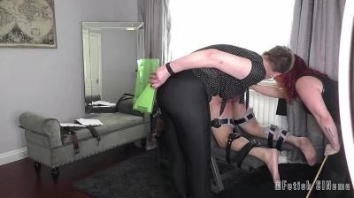 Fetish Sinema: Mistress Baton, Miss Katherine Kendal - Ordered By The Court - A Harsh Judicial Punishment