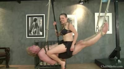 Club Stiletto: Lady Lillith - Bound To Be Her Human Swing