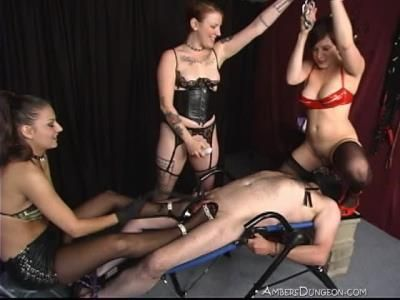 Ambers Dungeon: Cbt Squirt Party