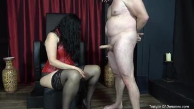 Clips4sale: Mistress Alexandra - Feeling Domina Christine Hand On Your Disgusting Worm Is A Privilege