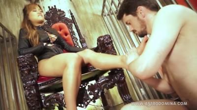 Clips4sale: Astro Domina, Peasant Beneath My Feet