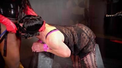 Domina Planet: Miss Ravyn Alexa, Queen Mistress Destiny, Making Jerry Become Cock Whore Gigi