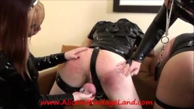 Clips4sale: Alice In Threesome Land Femdom, Cbt Spanking Twins Pt 4 Double Chastity Boys Mistress Femdom